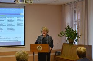 Выступление директора гимназии Е.Н.Ненаховой